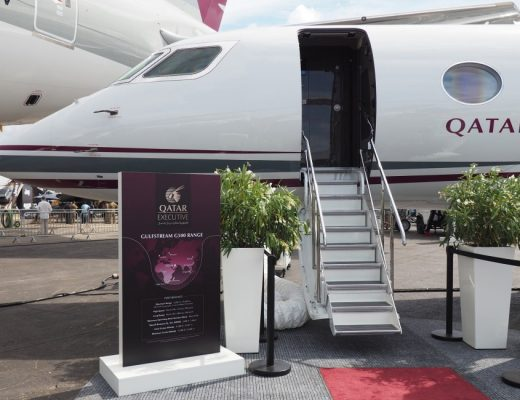 Qatar Executive unveiled luxurious private jets Gulfstream G500 - Qatar Airways
