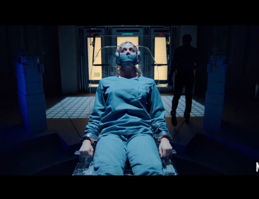 TAU science fiction thriller movie now on Netflix