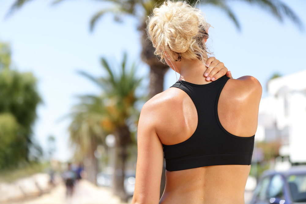 micro-tears in muscle tissue after an intense workout can leave you with sore muscles