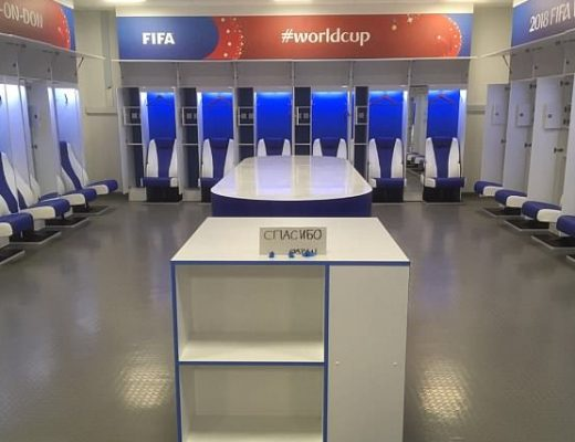 the Japan football team and fans surprised the world by cleaning up after them