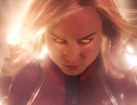 Brie Larson stars as Captain Marvel (Carol Danvers)