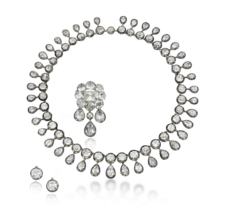 Jewels belonging to Marie Antoinette are being sold at auction
