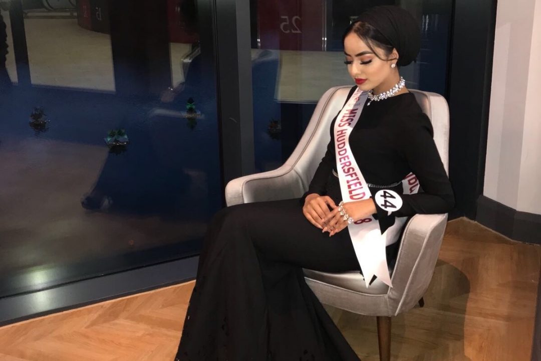 Sarah Iftekhar is the first Muslim Miss England contestant wearing hijab