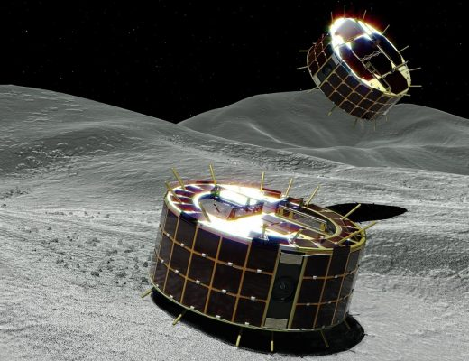 the Japanese spacecraft Hayabusa-2 dropped two MINERVA-II1 robotic rovers onto the asteroid Ryugu