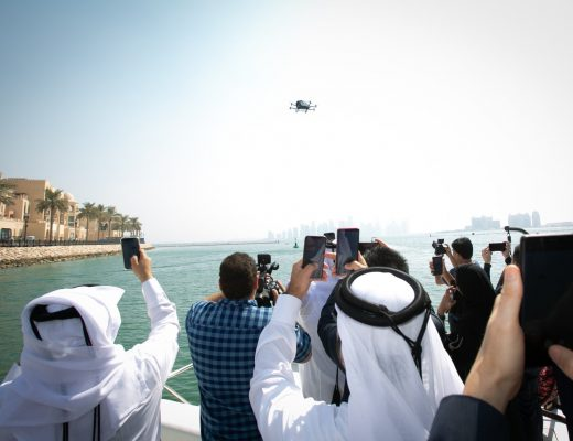 Ooredoo tested a taxi drone through its 5G network