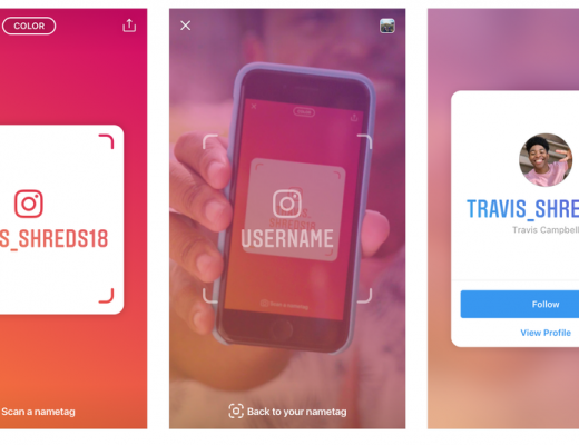 The new Instagram Nametag is a QR code that your friends can scan to follow you