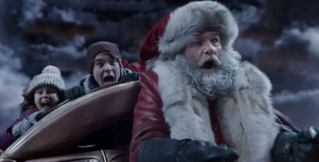 Kurt Russell is Santa Clause in The Christmas Chronicles on Netflix