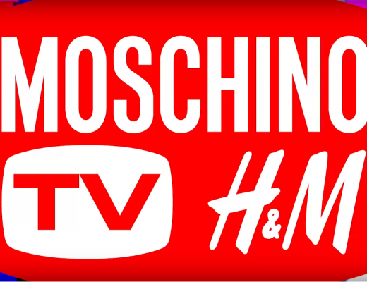 Moschino and H&M teamed up for collaboration fashion line