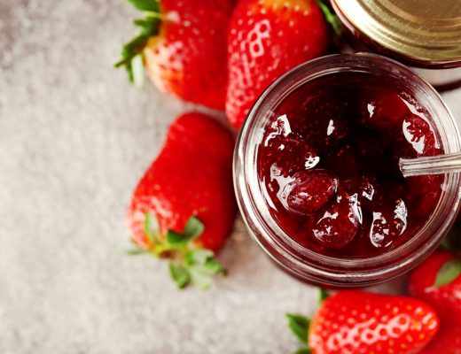 Strawberry jam recipe using fresh strawberries