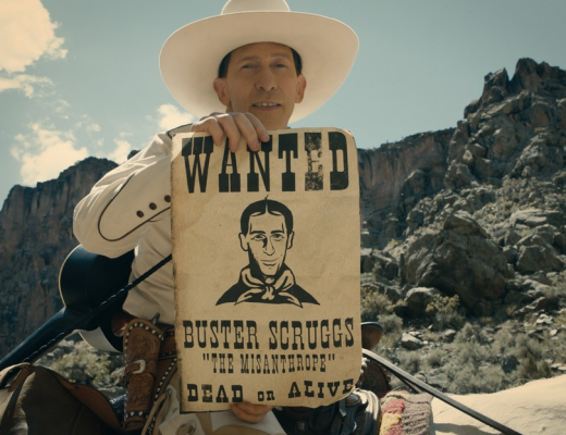 The Ballad of Buster Scruggs movie by the Coen brothers on Netflix