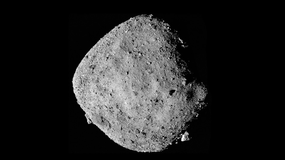 NASA's OSIRIS-REx has found traces of water on the asteroid Bennu