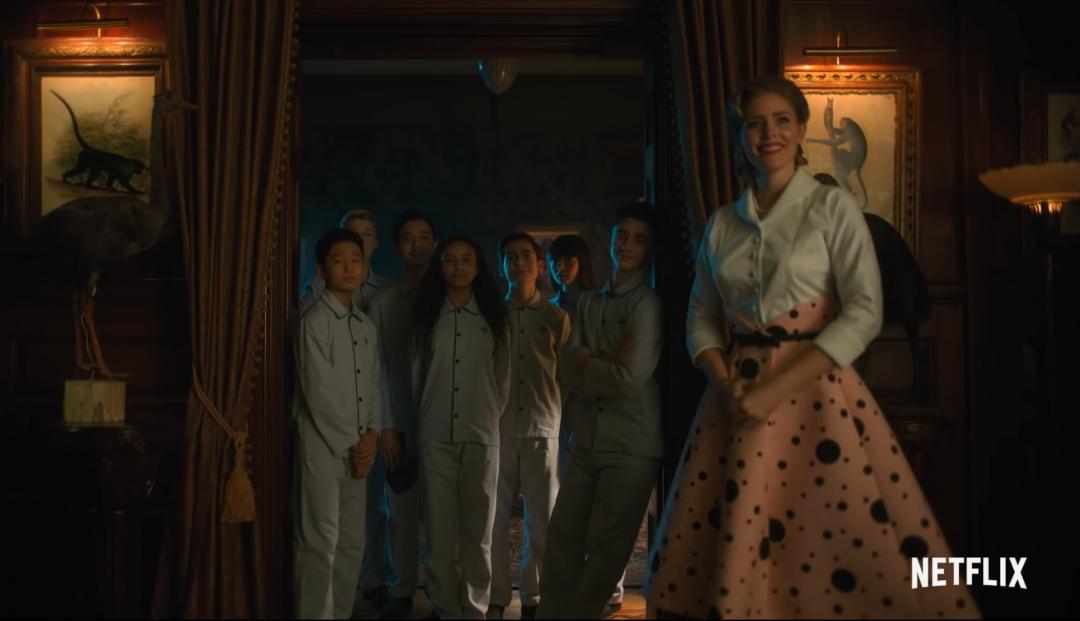 The Umbrella Academy Netflix series