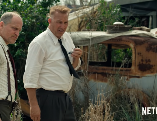 Kevin Costner and Woody Harrelson take on Bonnie and Clyde in the new Netflix Original movie Highwaymen