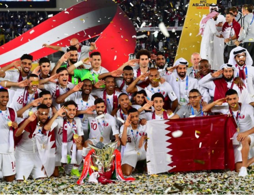 Qatar National Football team jumped FIFA ranking after winning 2019 AFC Asian Cup