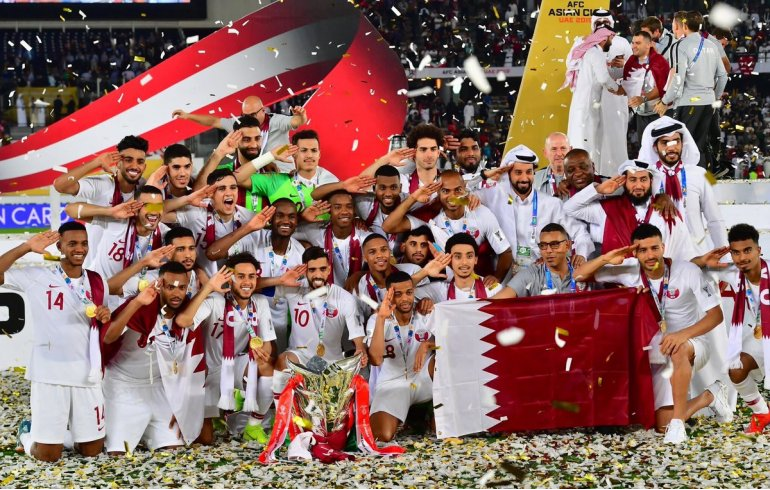 Qatar National Football team jumped FIFA ranking after winning 2019 AFC Asian Cup